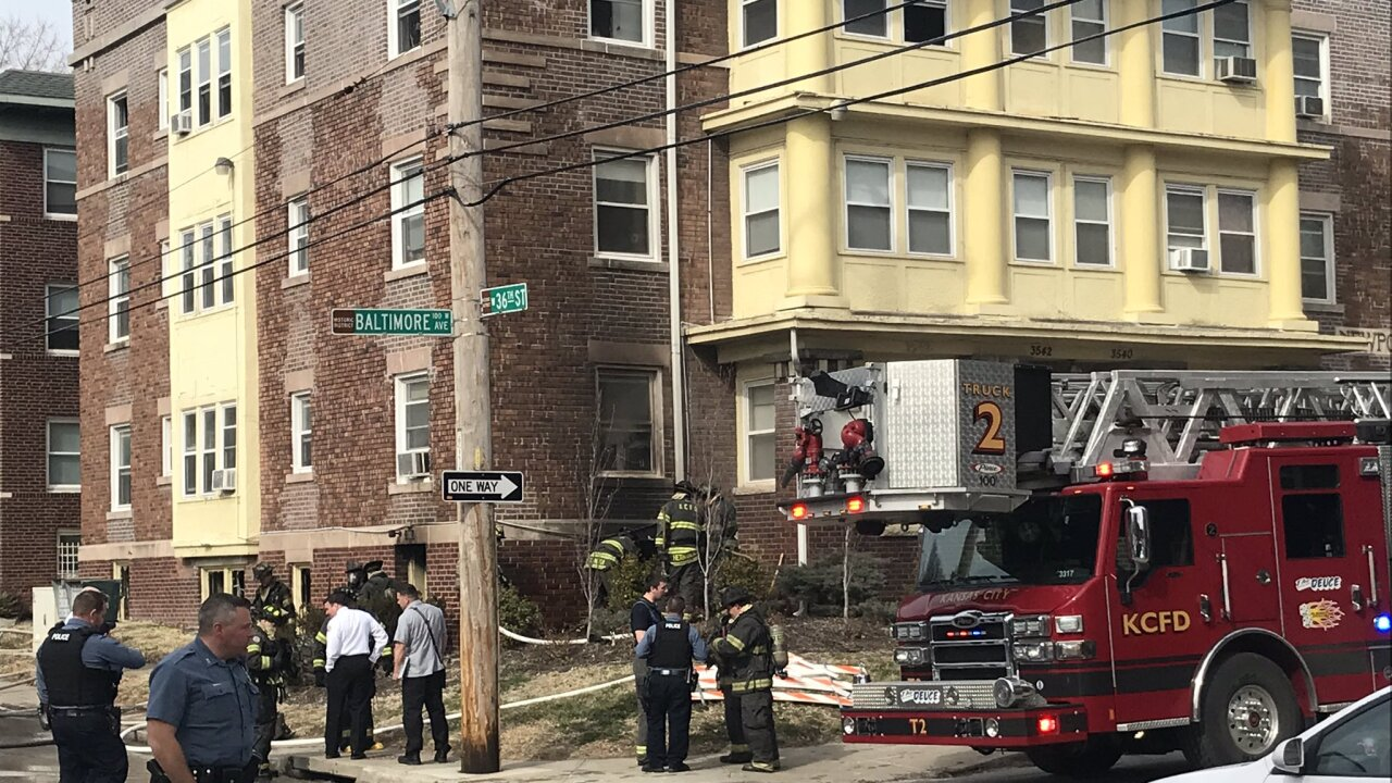 Dog and cat lose life, no residents injured in 35th & Baltimore apartment fire