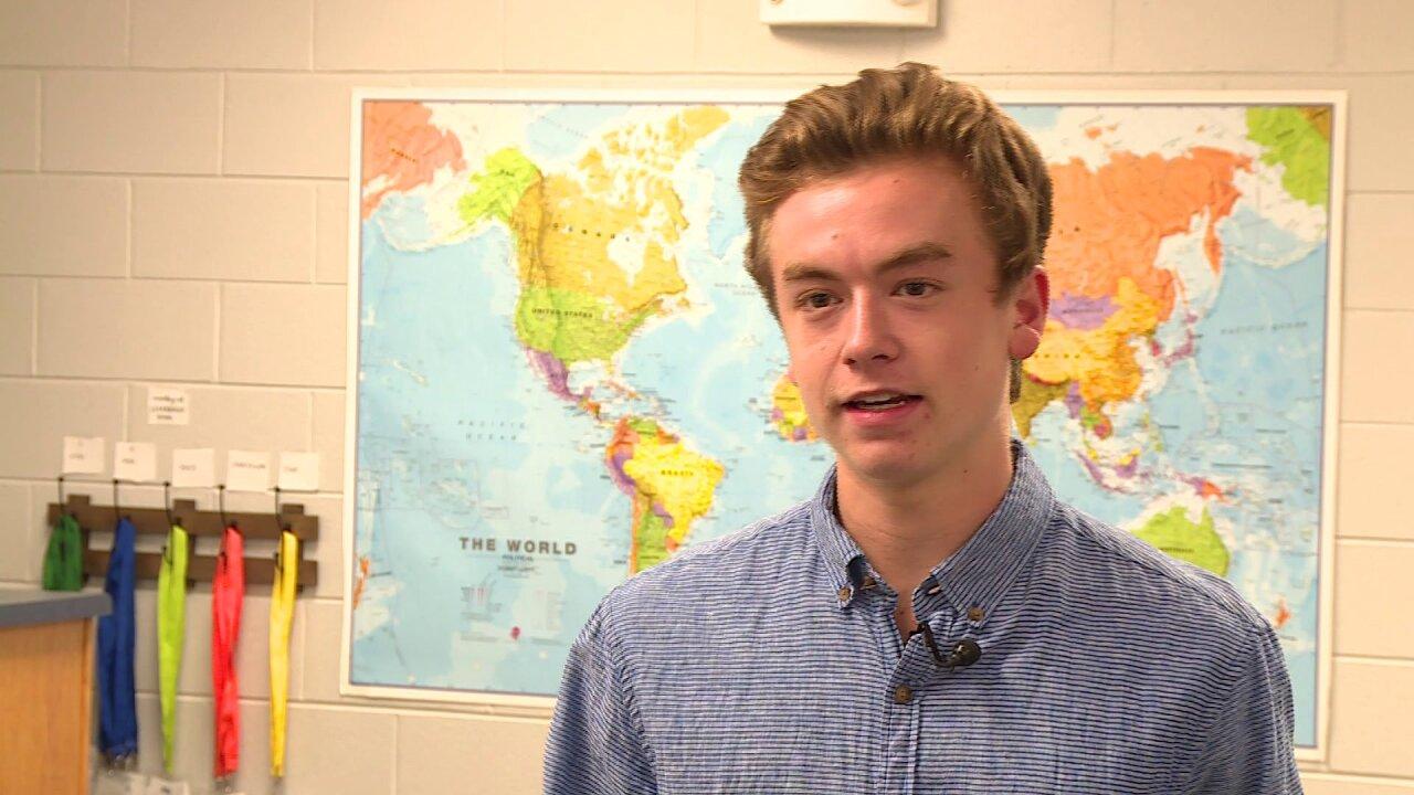Teen honored for saving choking boy during Henrico churchservice