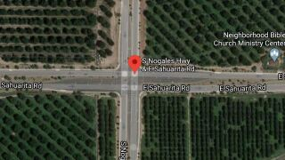70-year-old motorcyclist dies in Sahuarita crash. Photo via Google Images.