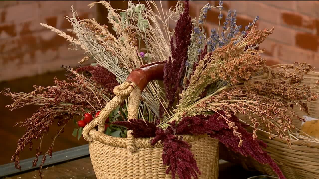 How to Make a Fall Centerpiece with 'Found' Items