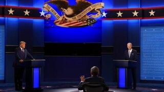 Trump condemns Proud Boys days after debate