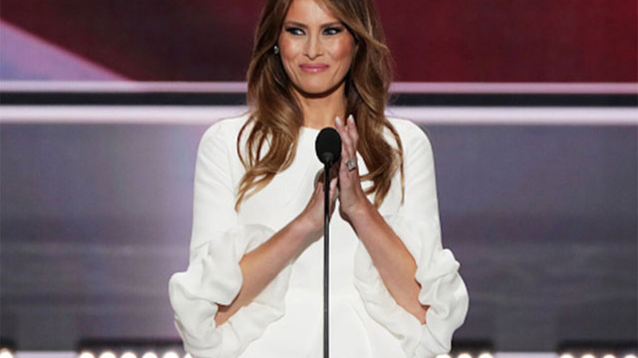Was Melania Trump's outfit plagiarized by Ohio congresswoman?
