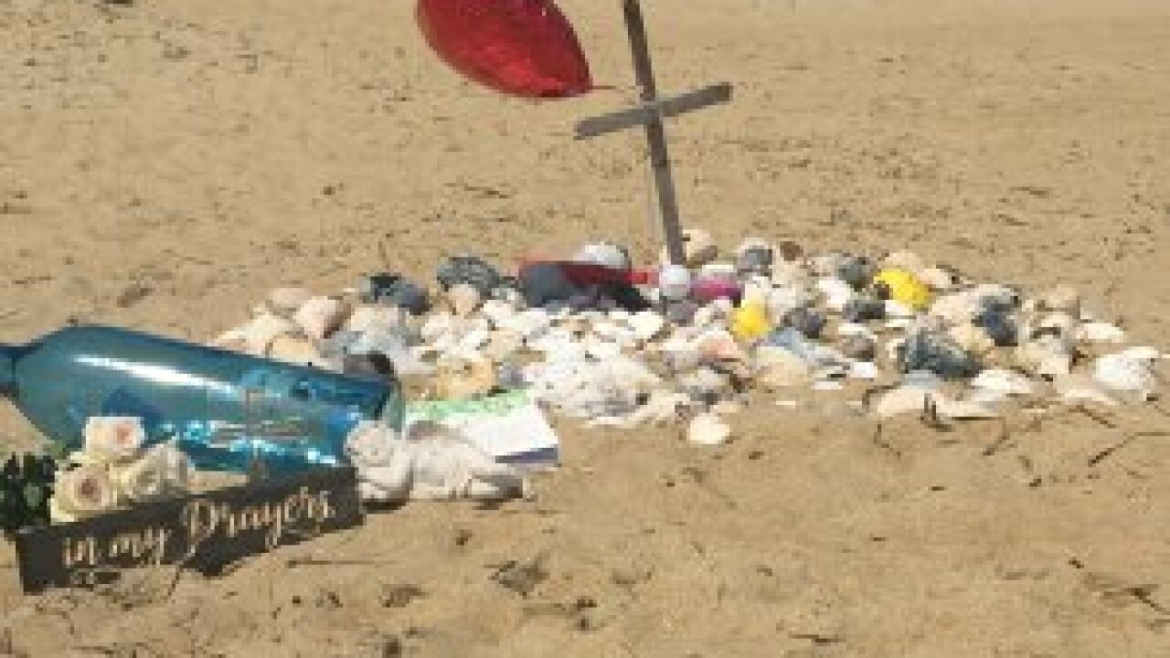 Search turns to recovery for child swept away by wave on Kitty Hawk beach