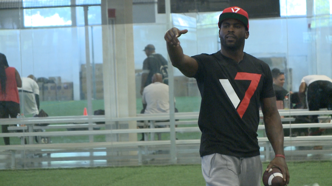 Mike Vick's Elite Playmakers Showcase makes a stop in VirginiaBeach