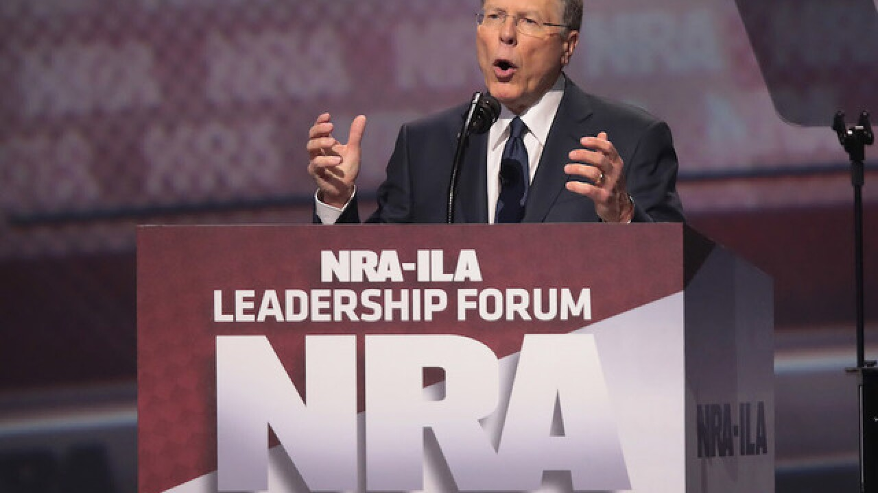 NRA's Wayne LaPierre hits left in defense of guns at CPAC