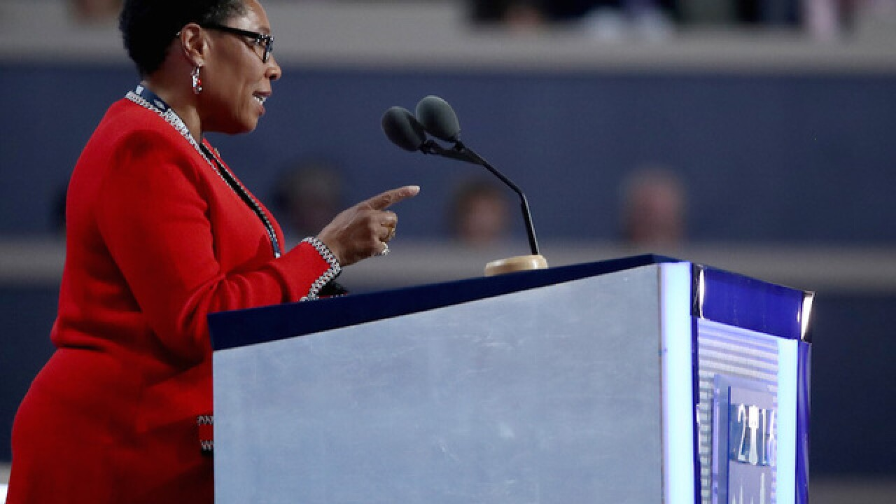 New DNC chair Marcia Fudge tells booing delegates to 'be respectful'