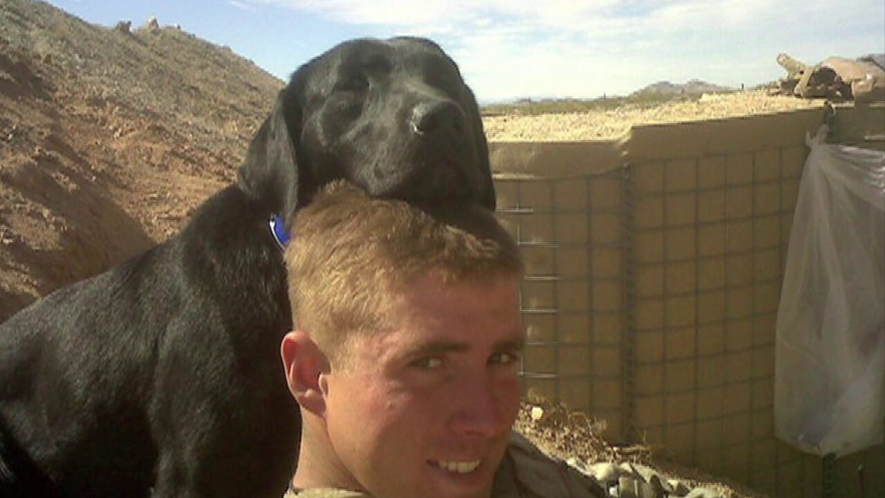 Why a Capitol Police Officer gave her beloved dog to a U.S. Marine