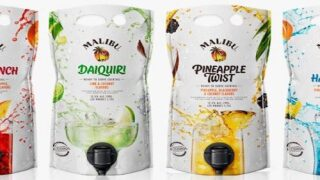 These Malibu Mixed Drink Pouches Are Perfect For Summer Parties