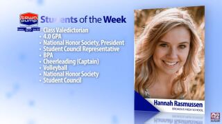Students of the Week: Hannah Rasmussen and Kiarah Coulter from Broadus High School