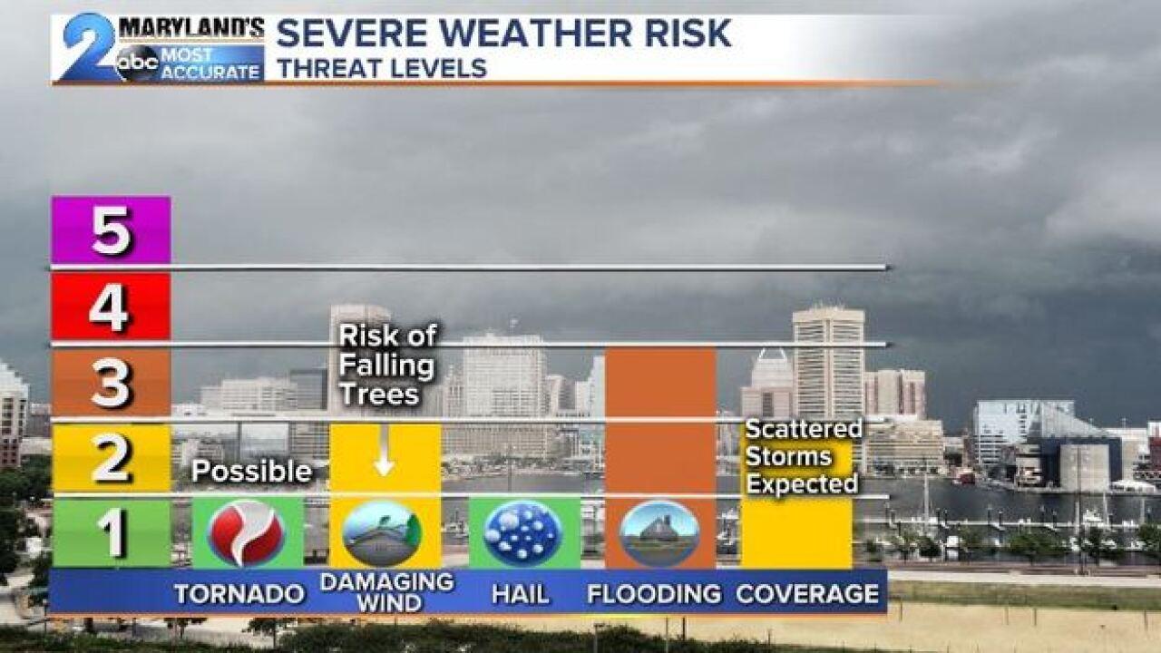 WEATHER ALERT DAY: Severe Threat Wednesday