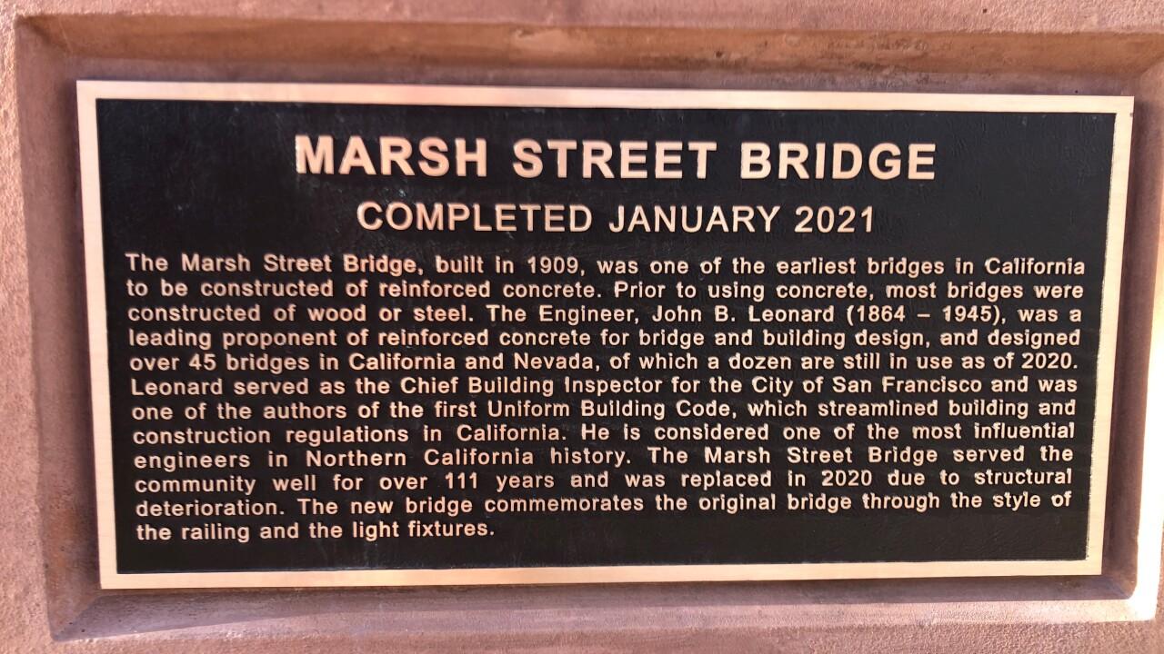 Marsh St. Bridge