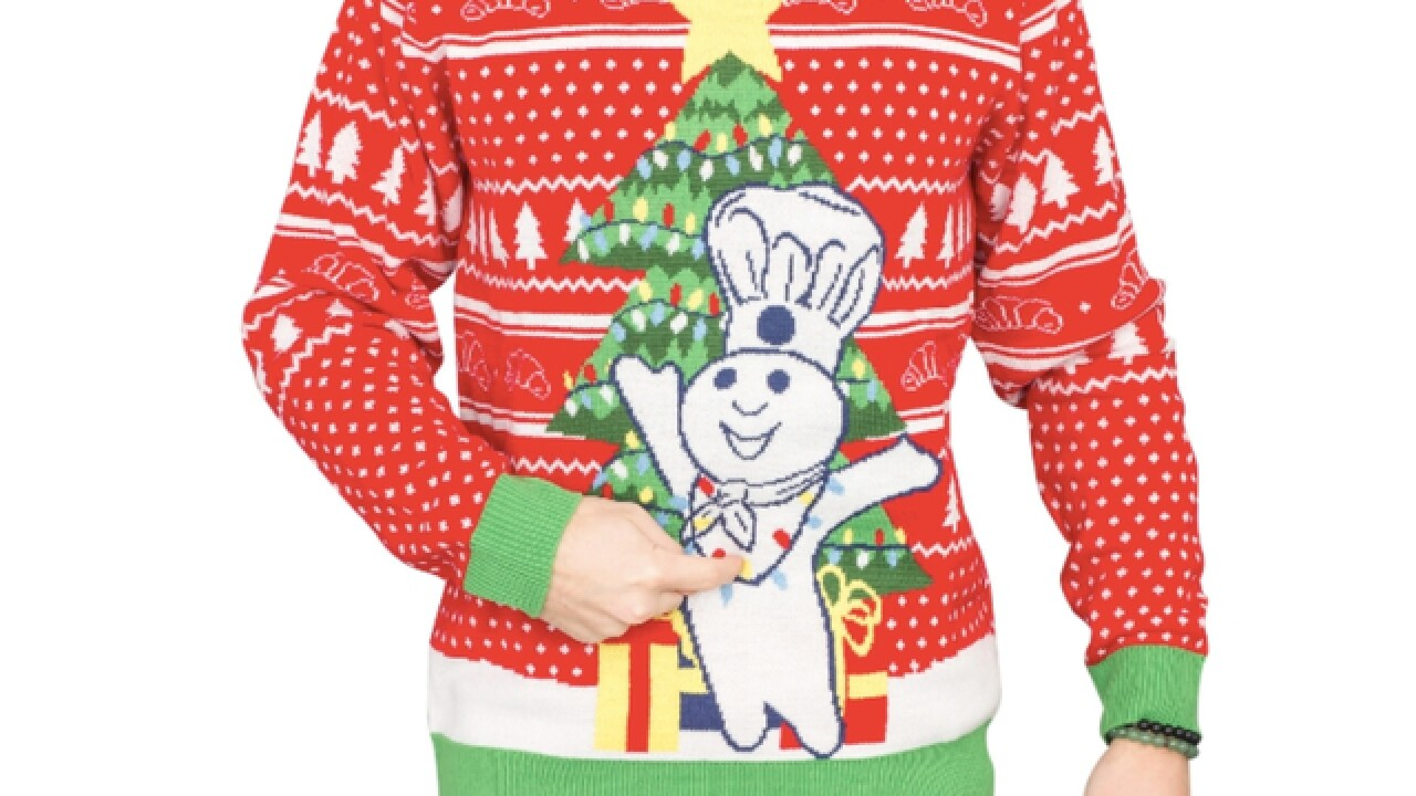 Horrible Christmas Sweaters.Pillsbury S Ugly Christmas Sweaters Sold Out Within A