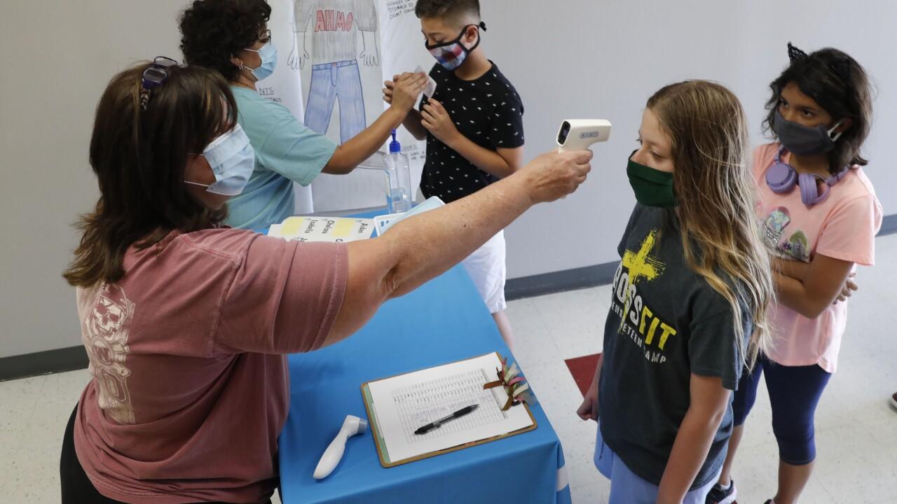 Virus Outbreak Children