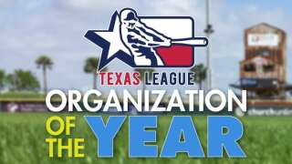 Hooks named Texas League organization of the year