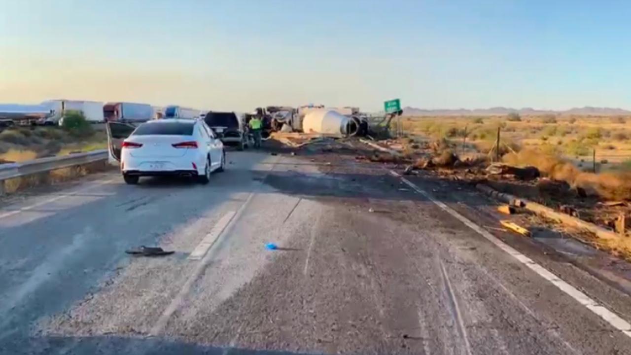 I-10 Riggs crash