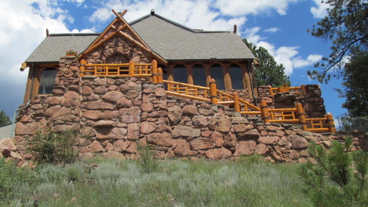 Historic Baehrden Lodge at Pine Valley Ranch Park closed because of bats