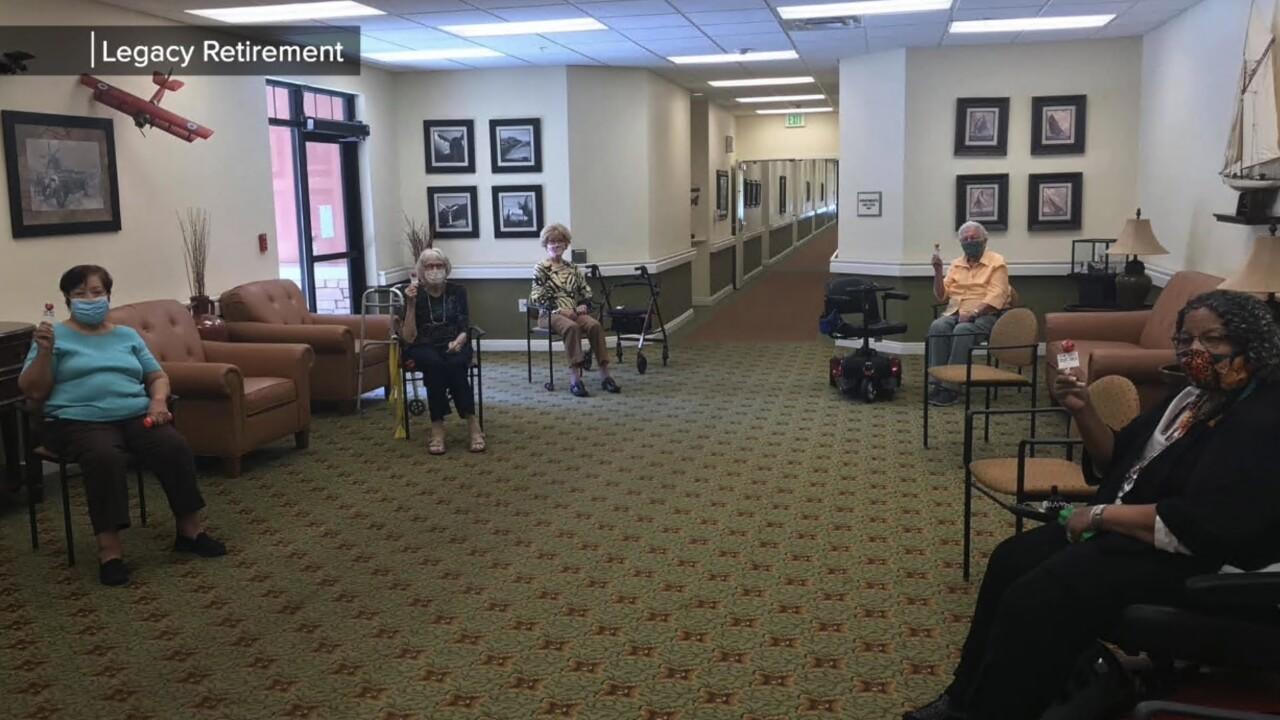 Valley seniors at Legacy Retirement