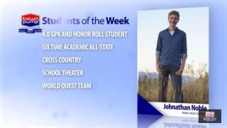 Students of the Week: Jonathan Noble and Lillian Eaton of Park High School