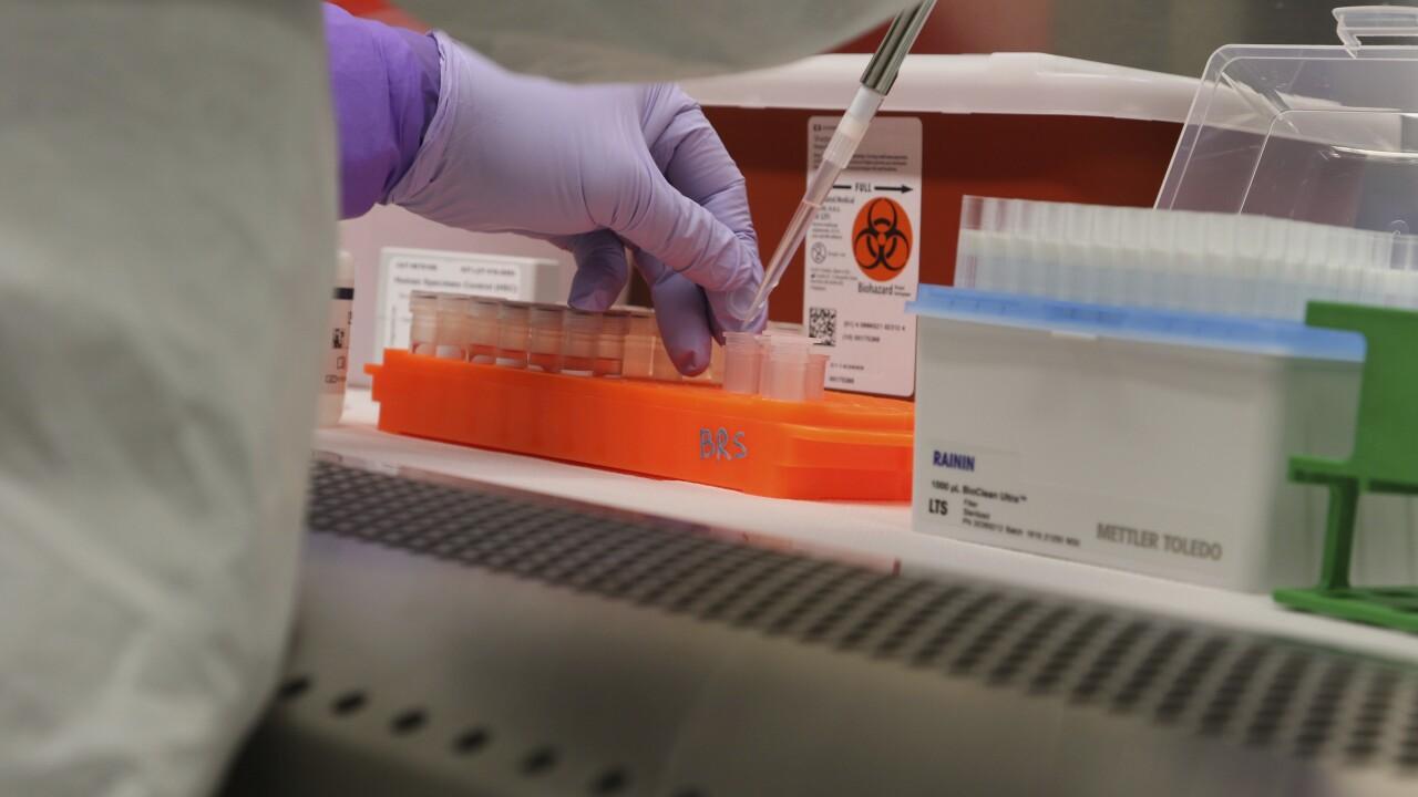 Coronavirus testing in Hawaii laboratory