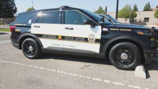 Pueblo Police Car
