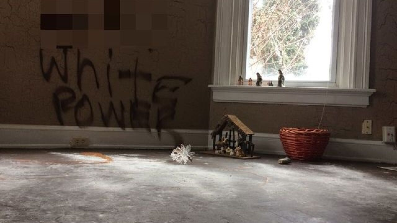 Price Hill home vandalized with Swastikas