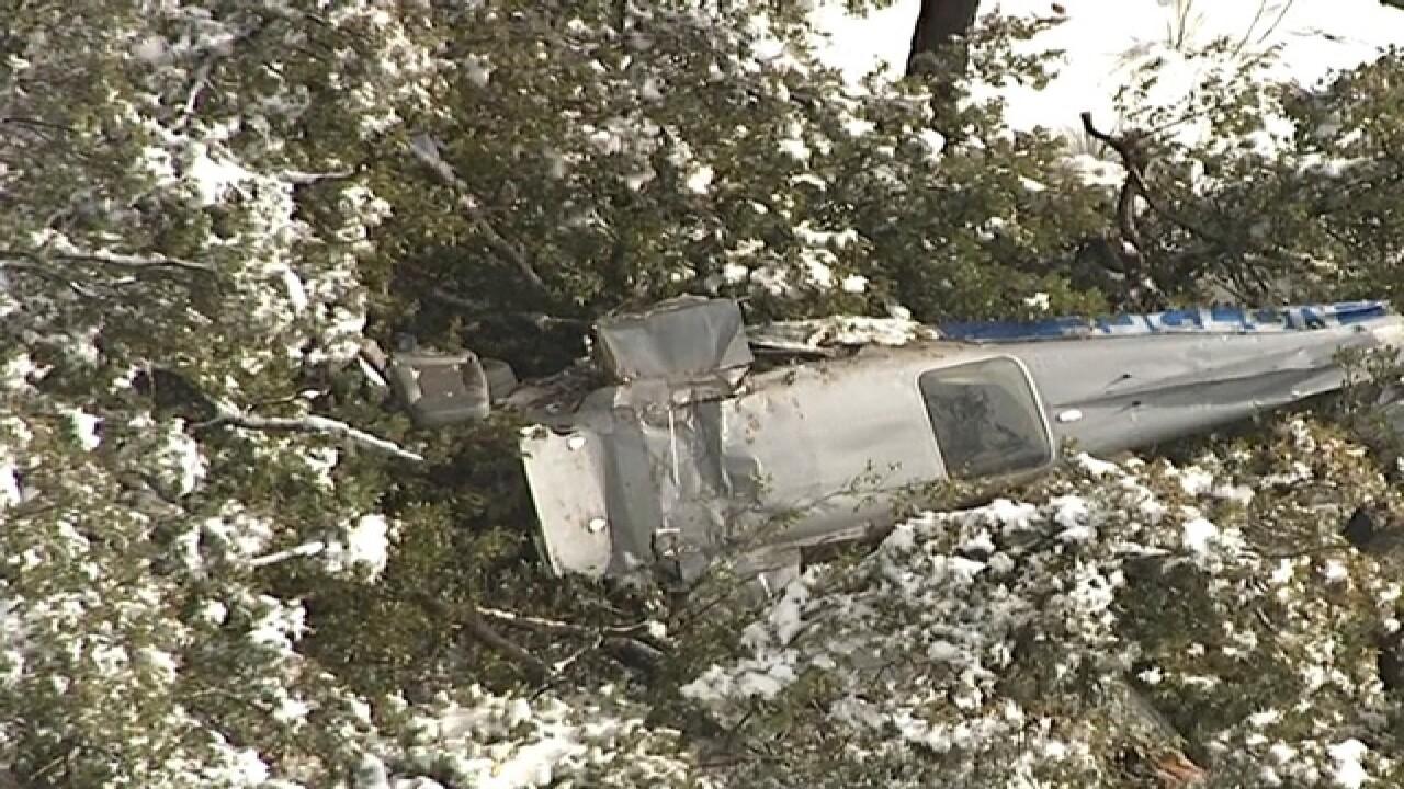 Sheriff: Plane crash site located near Payson