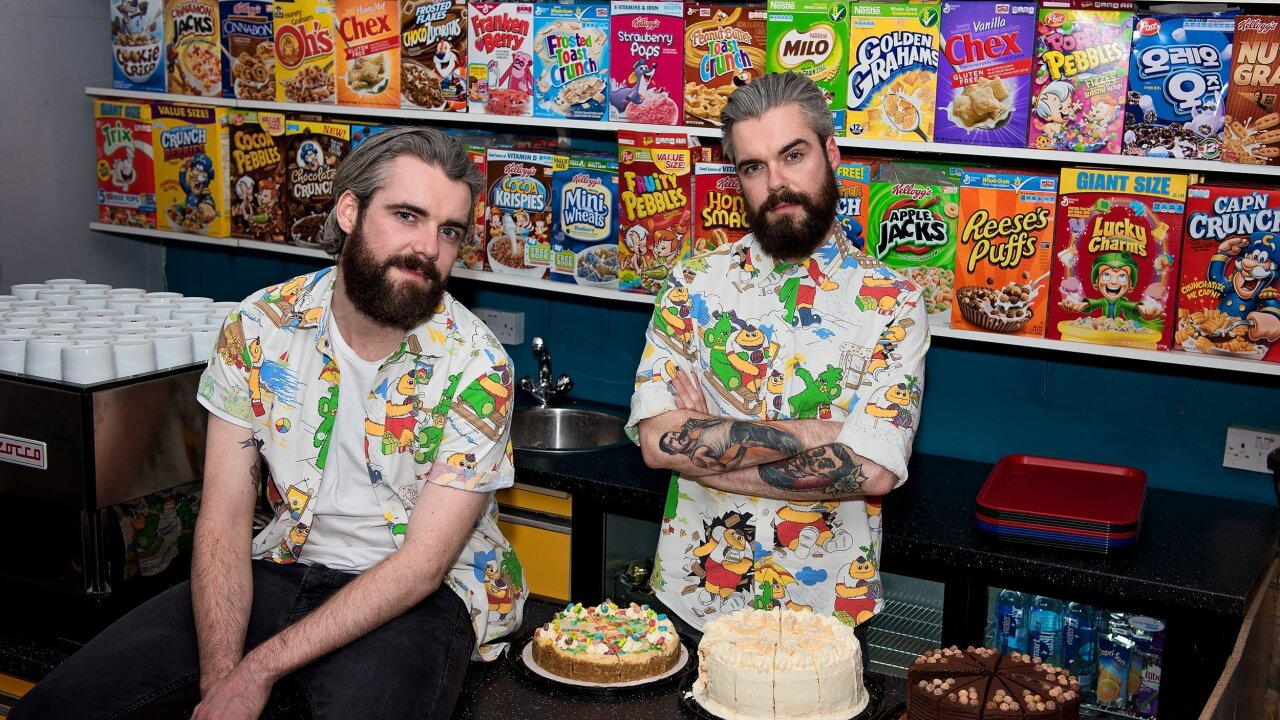 London mob attacks trendy cereal cafe