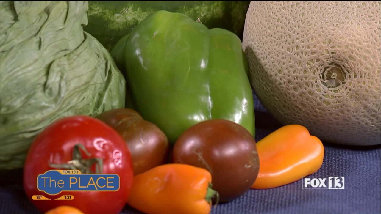 Snack your way to Summer hydration with these lush fruits andveggies