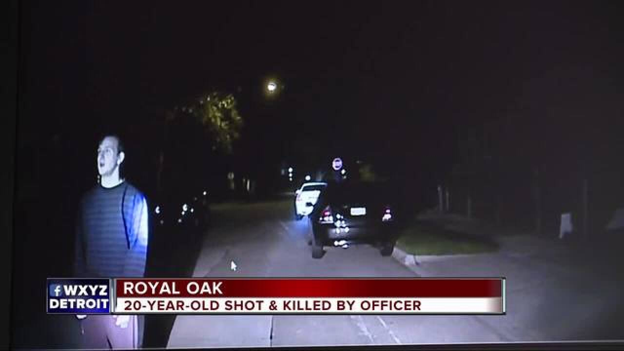 Prosecutors find fatal police shooting of 20-year-old Royal Oak man was justified