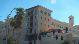 Scientology building in Clearwater, Florida.
