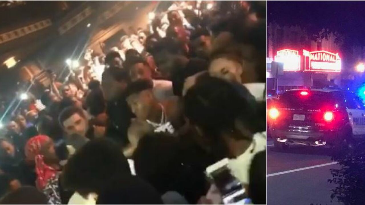 Rapper NBA Youngboy fight caught on video at Richmondshow