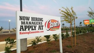 First Raising Cane's location set to open in Bakersfield