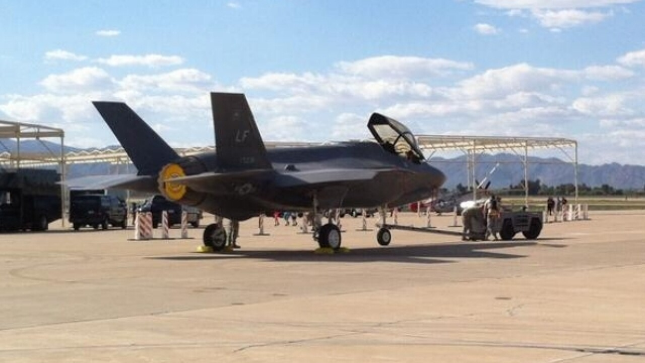 Luke AFB: F-35 flights remain paused due to oxygen issue