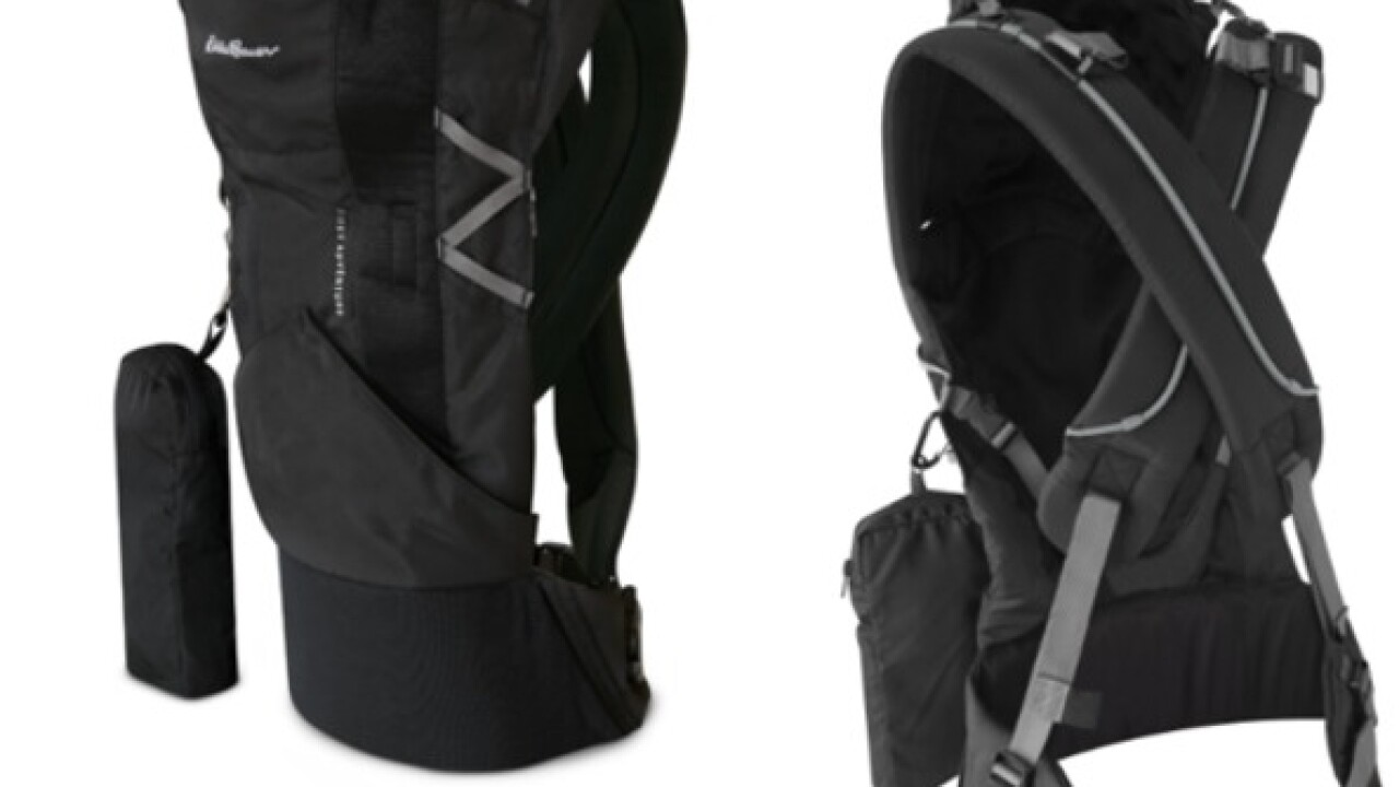 Eddie Bauer infant carriers recalled due to fall hazard
