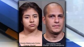 Oneida Maldonado Cortez, Jose Santos Perez mugshots