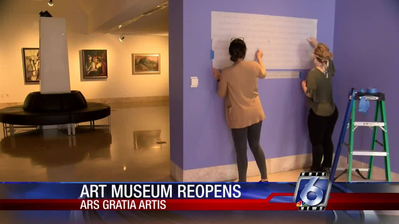 Local art museum reopens with free admission through Aug. 31