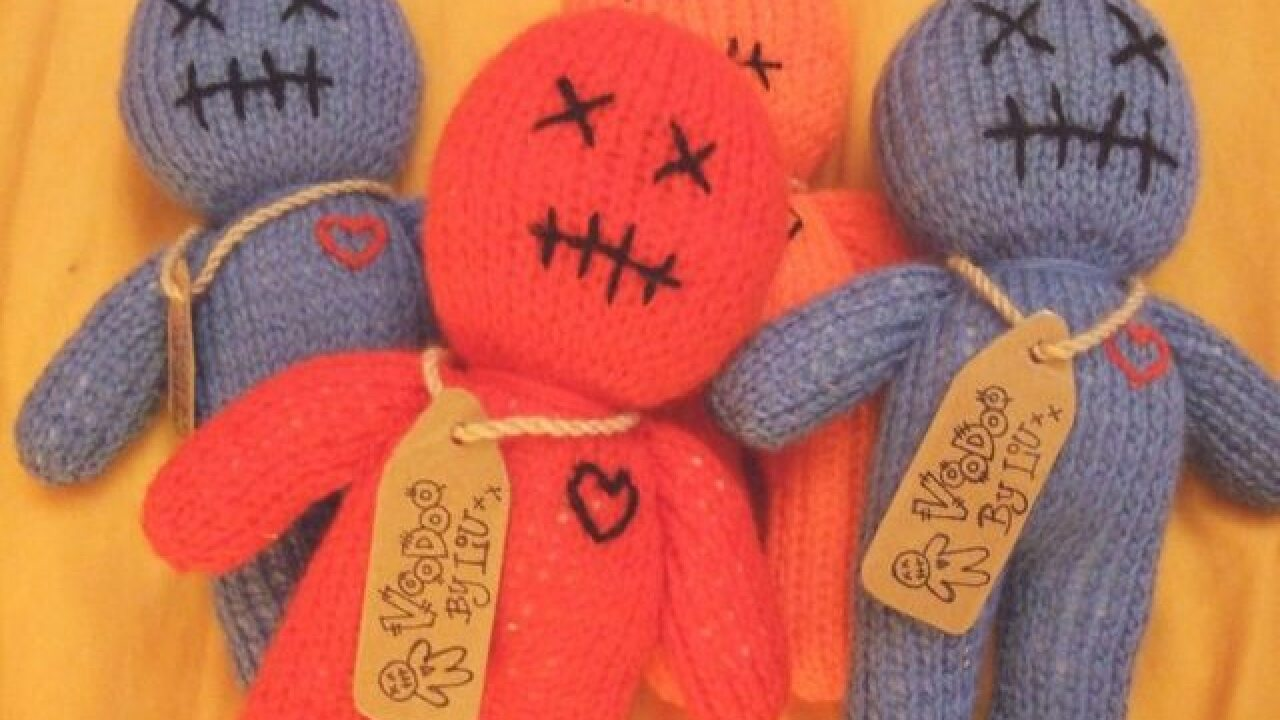 Research shows that using a voodoo doll of your boss can