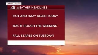 Sept 18 2020 5:15 a.m. forecast