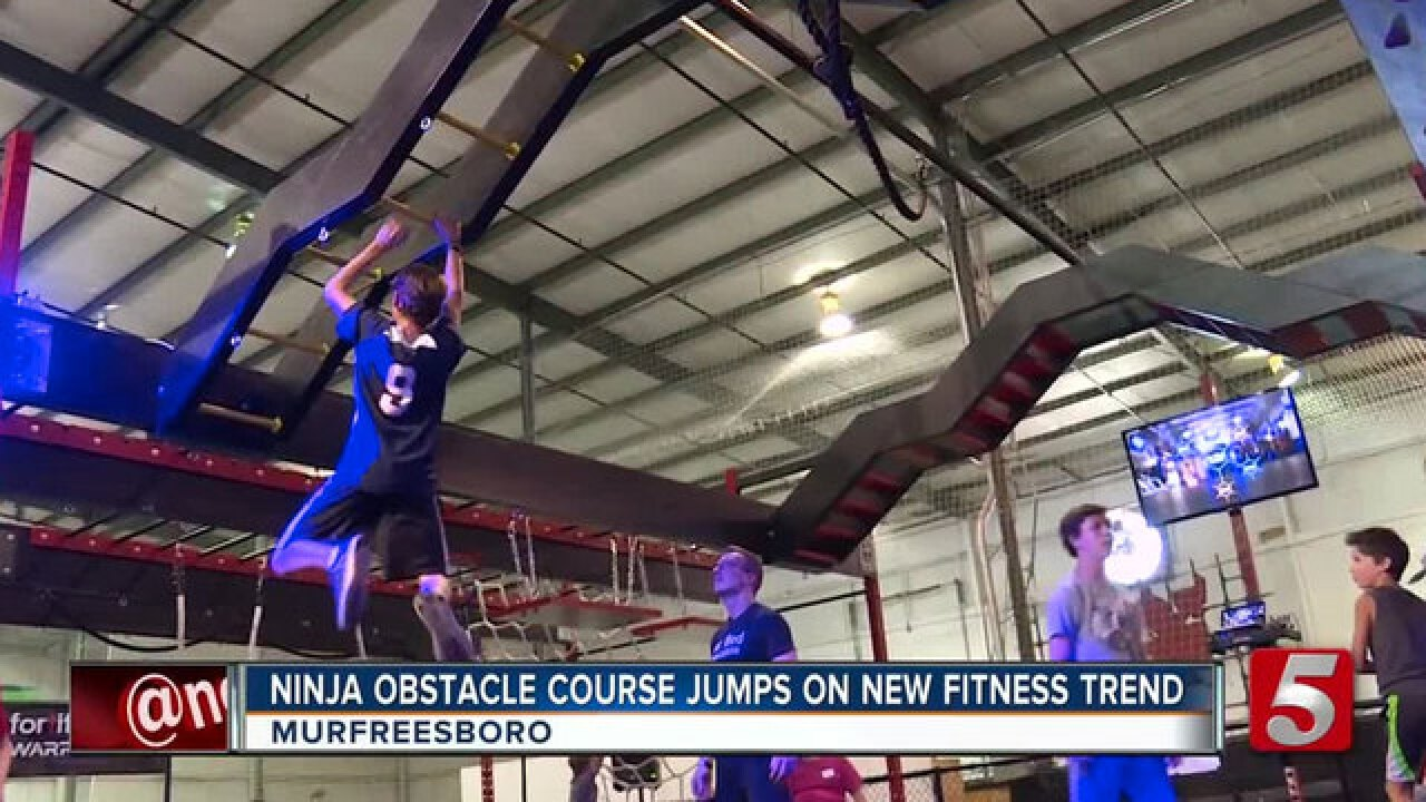 Fortified Warrior Ninja Obstacle Training Classes A New Kind Of Family Fitness