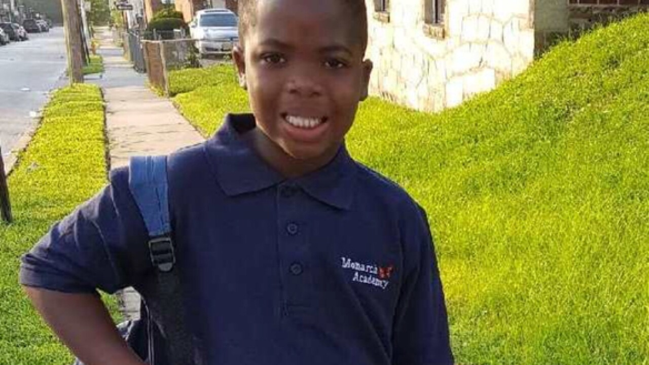 Baltimore Police searching for runaway 10-year-old boy