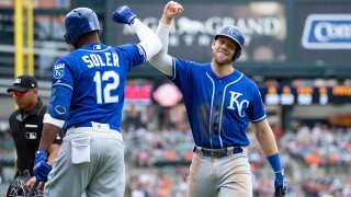 Hunter Dozier, Jorge Soler each homer twice as Royals beat Tigers