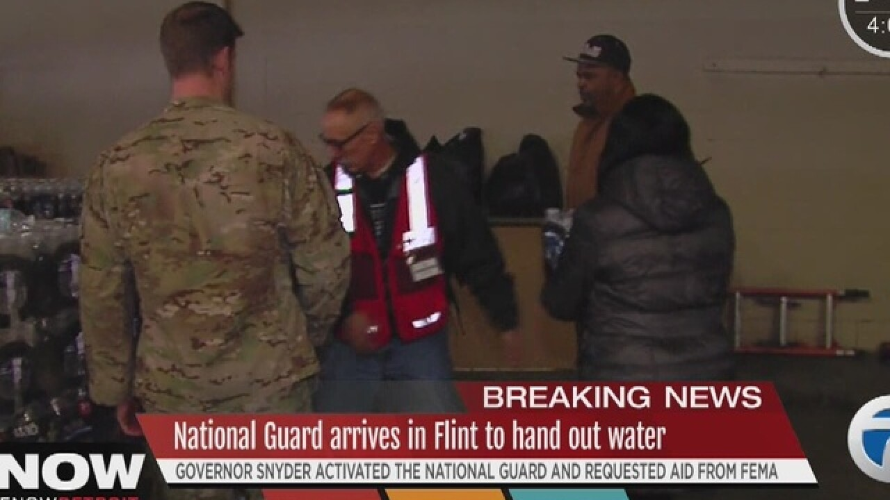 Snyder activates National Guard in Flint