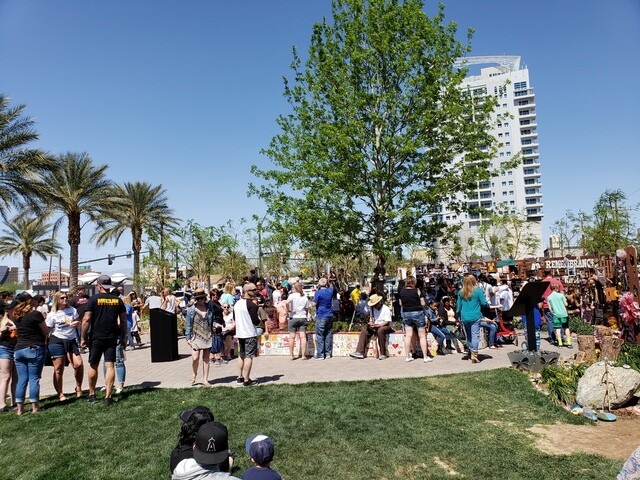 PHOTOS: Butterfly release at Las Vegas Community Healing Garden