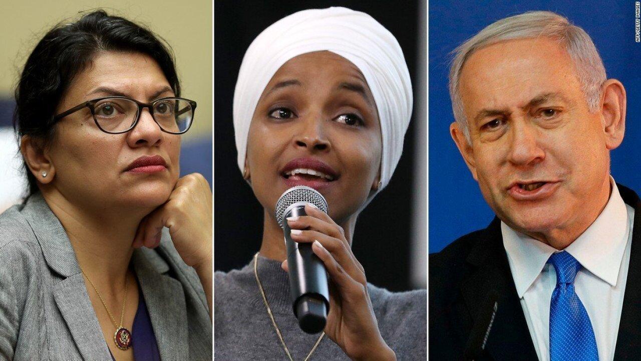 Tlaib Omar Netanyahu Split