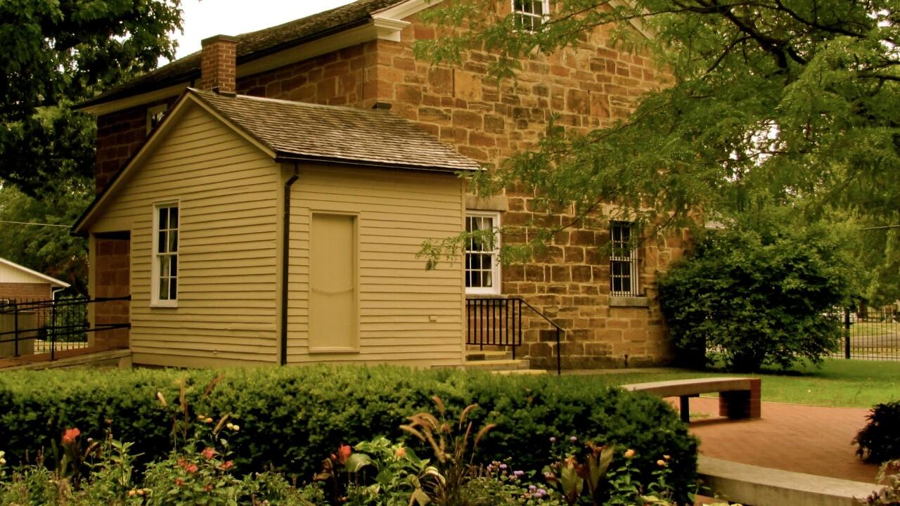 Carthage Jail in Nauvoo, Illinois.