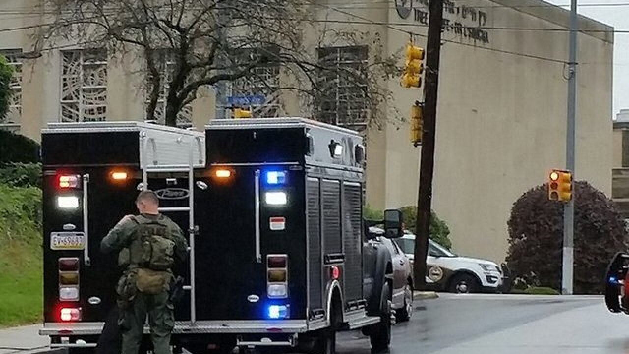 Active shooter situation at synagogue