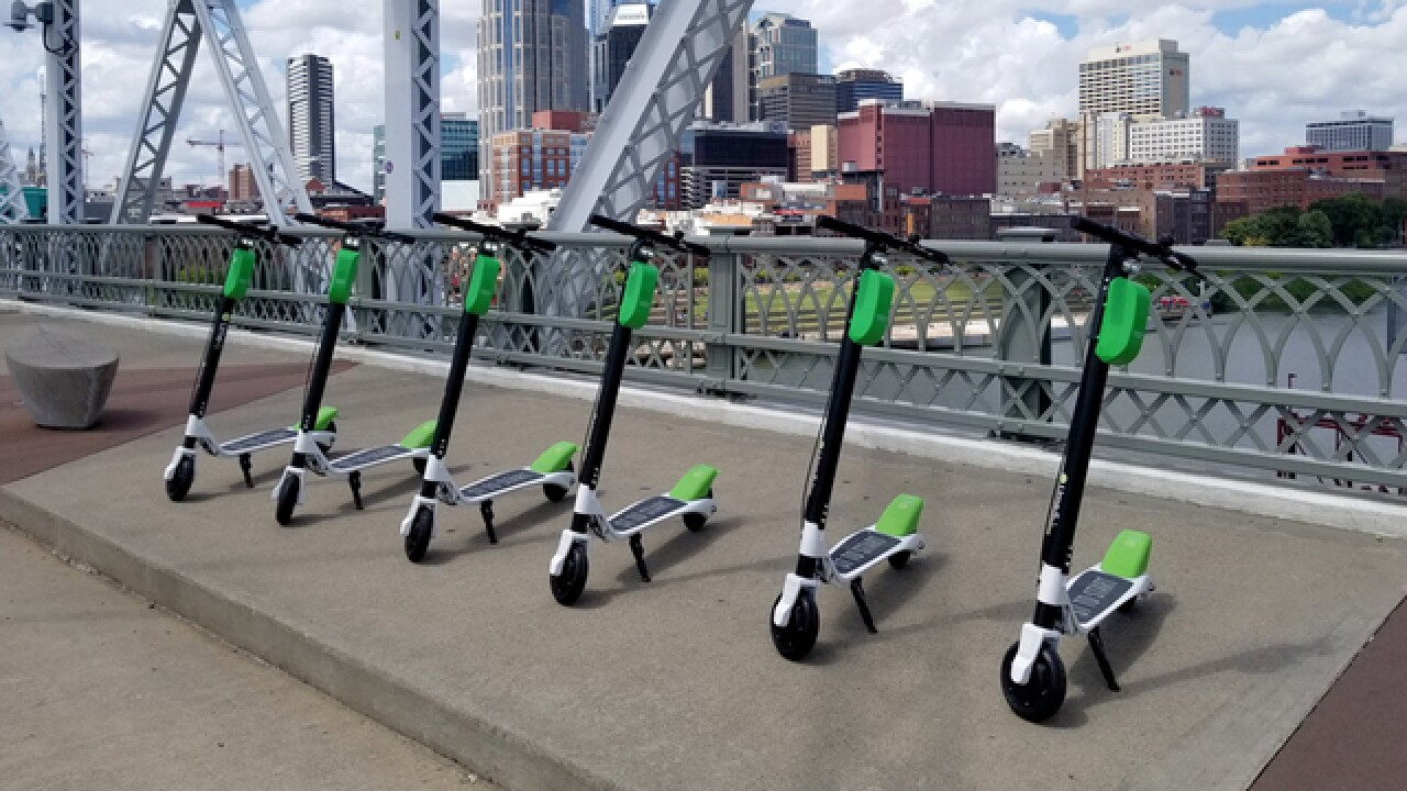 Electronic Scooters Return To Nashville Streets