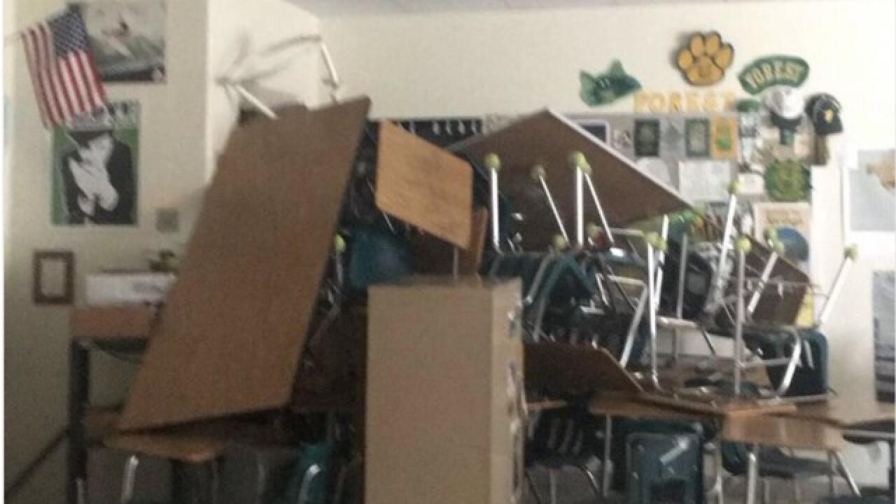 Sheriff: 1 hurt in Florida school shooting