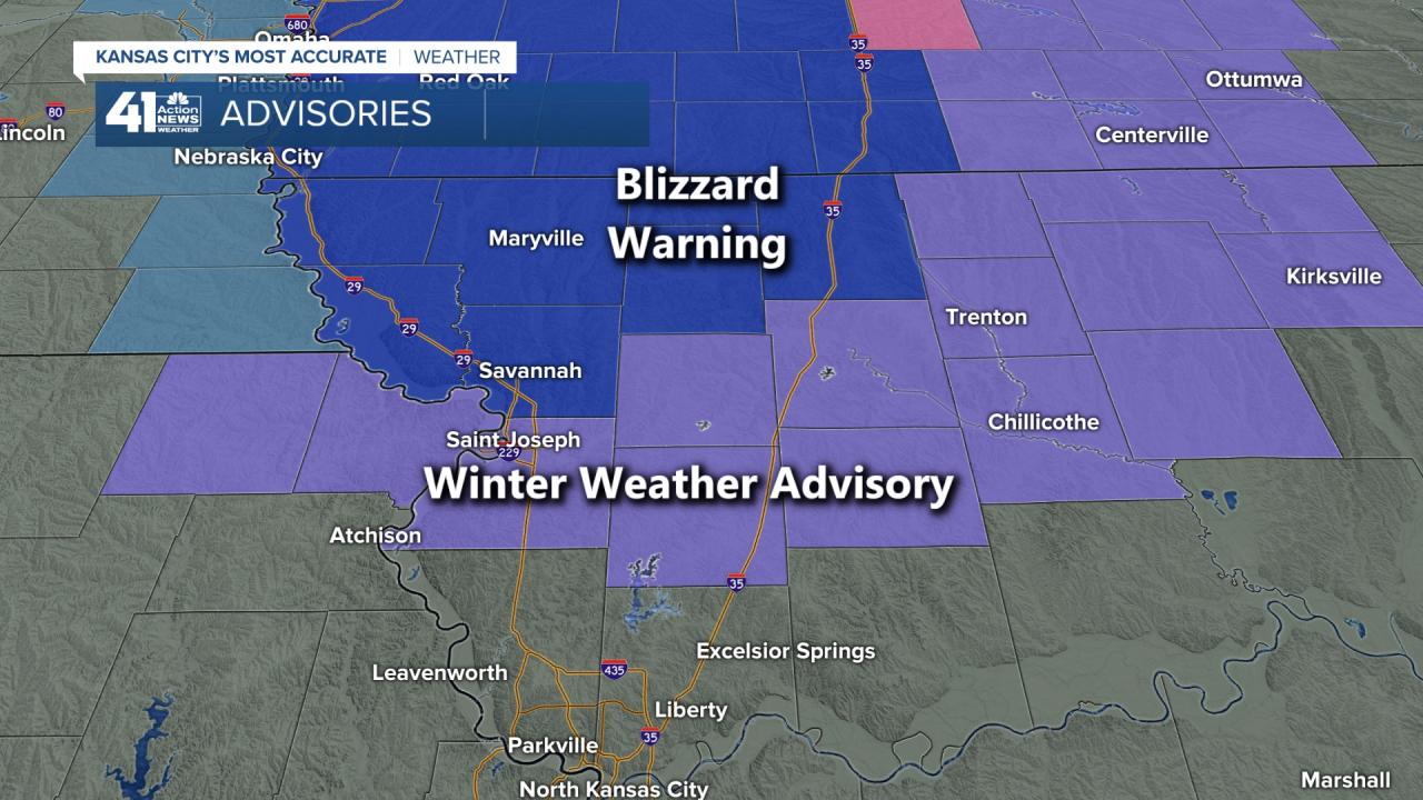 Winter Weather Advisories