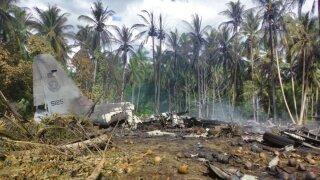 Philippines Military Plance Crash